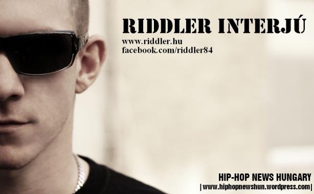 Riddler interjú nyitókép