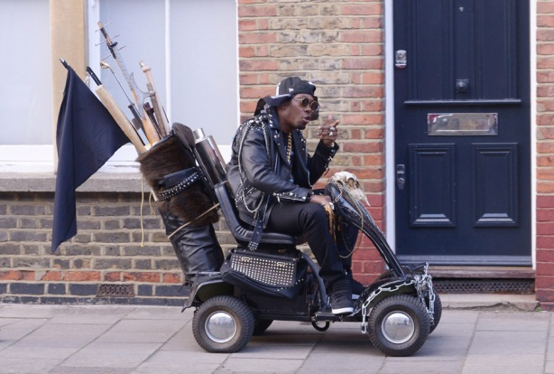 ROBBIE AND DIZZEE VIDEO SHOOT